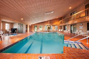 indoor pool at Ramada by Wyndham Wisconsin Dells